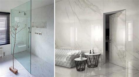 bagni in marmo moderni calacatta marmo quasi bianco o gr 233 s per interni di lusso