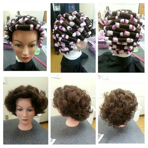 different ways to wrap perms bricklay perm wrap and comb out cosmetology student
