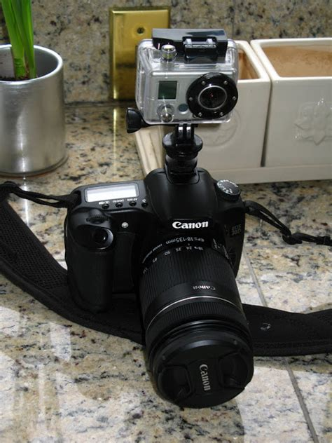 Gopro Canon using a gopro hd on a budget mounting a gopro hd on your dslr