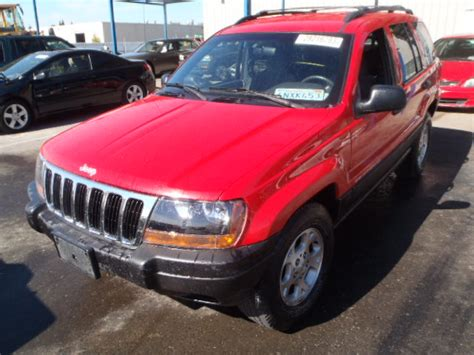 2000 Jeep Grand Parts Parting Out 2000 Jeep Grand Laredo 4 0l 42re