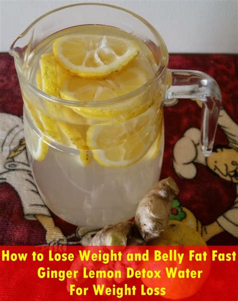 How To Detox by Water For Weight Loss Lemon Detox And Detox Waters On