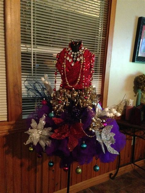 my new orleans style mannequin christmas tree new
