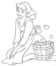14 gambar mewarnai princess cinderella anak terbaru belajar sambil bermain gambar