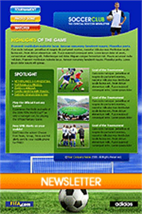 sports newsletter template email newsletter templates free e newsletter templates