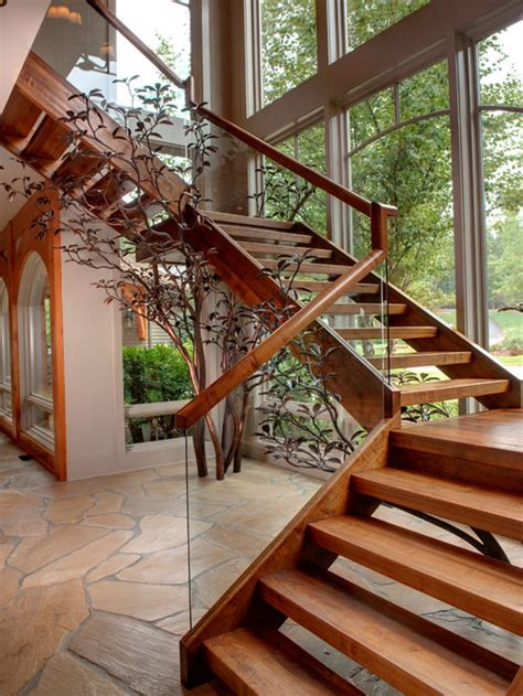 wood stair tread houzz