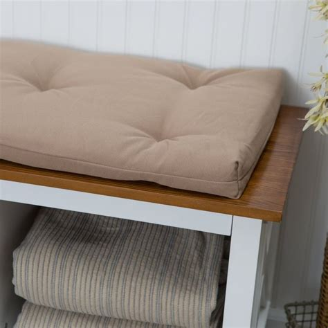 storage bench seat cushions best 25 bench cushions ideas on pinterest breakfast