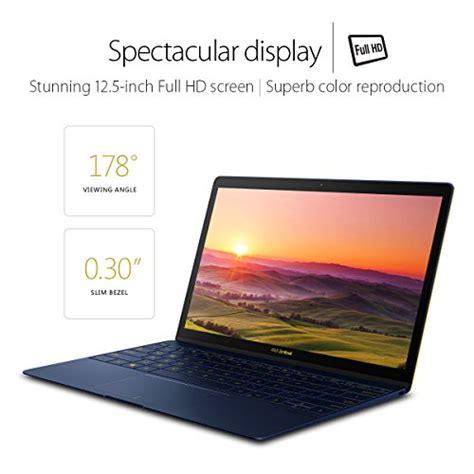 Asus Ultra Slim Laptop Malaysia asus zenbook 3 ux390ua xh74 bl 12 5 inch ultra slim lightweight laptop intel kabylake i7
