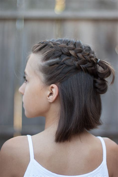 cute hairstyles braids short hair 5 braids for short hair cute girls hairstyles
