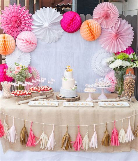 baby shower table decorations 25 best ideas about dessert table backdrop on