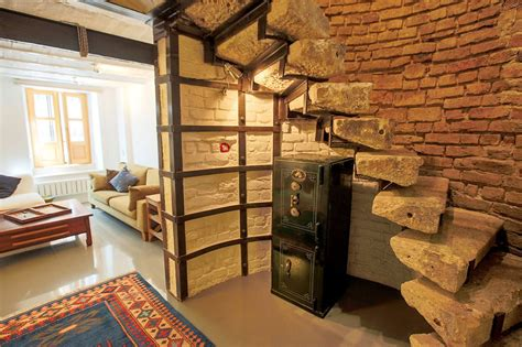 stylish duplex apartment   historical building