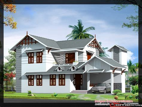 4 bhk sloping roof home design 1850 sq ft 1839 square 4 bedroom floor sloping roof home design and plan home pictures