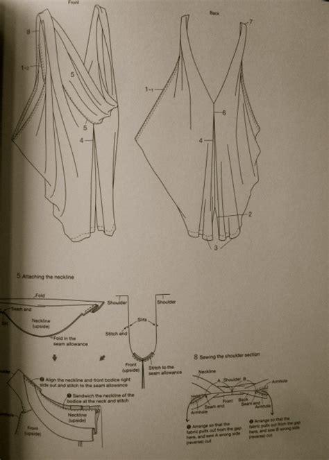 drape dress pattern 69 best images about sewing japanese quot drape drape quot by