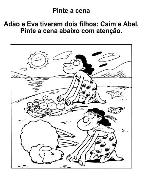 20 Atividades Bíblicas sobre Caim e Abel para Imprimir e