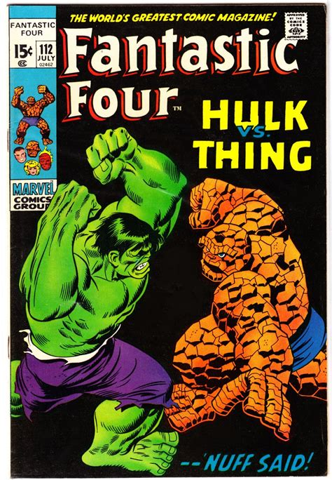 best fantastic four comics top 10 comic book covers 1970 1979 aaron lopresti