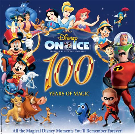 Family Disney On Ice100 Years Of Magic by Disney On Celebrates 100 Years Of Magic The Blessed