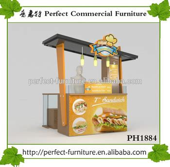 design booth burger burger kiosk restaurant equipment fast food stall shop