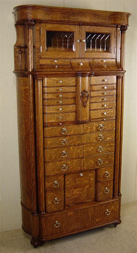 american cabinet co oak dental cabinet model 56