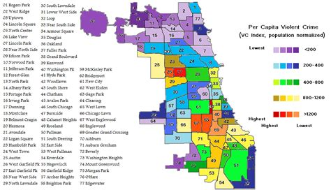 chicago map safe areas chicago crime all the statistics you don t want to be