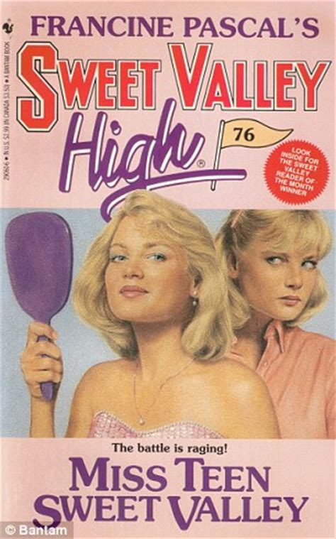 Serial Sweet Valley High Francine Pascal sweet valley high the literature scholar whose as a ghostwriter paid