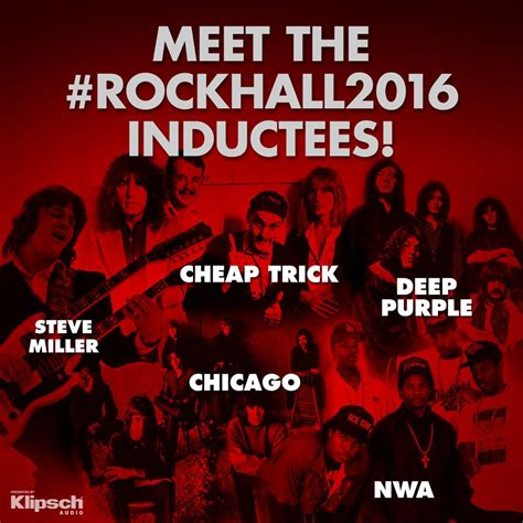 names of rock singers 2016 rock and roll hall of fame names class of 2016 best