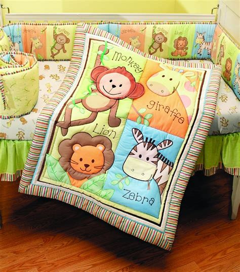 Total Fab Jungle Theme Baby Bedding Jungle Themed Nursery Bedding Sets