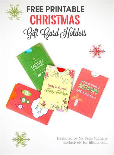 printable christmas gift card holder template free holiday gift card holder printables download print