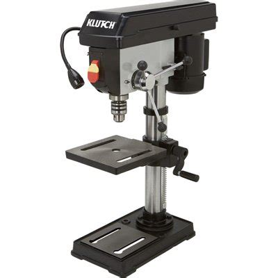 bench mount drill press klutch 10in bench mount drill press 1 2 hp 5 speed ebay