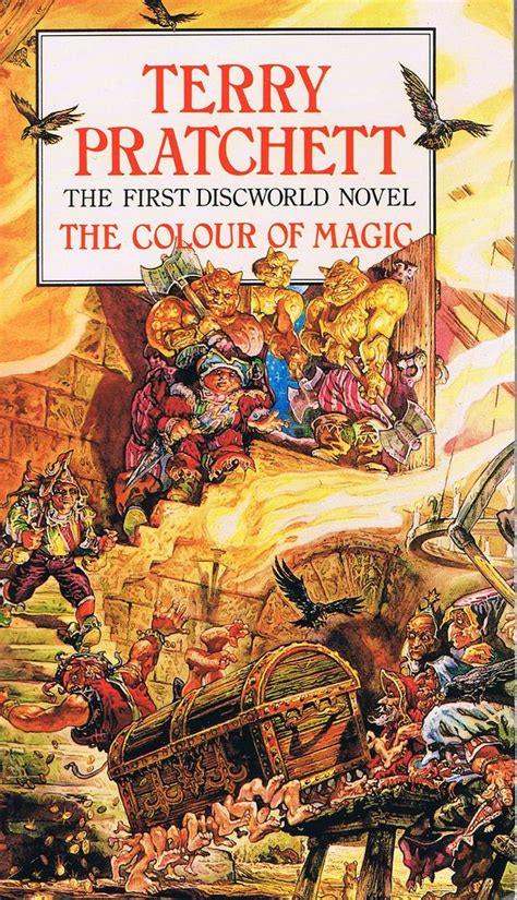 the color of magic book discworld the luggage dragons of lancasm