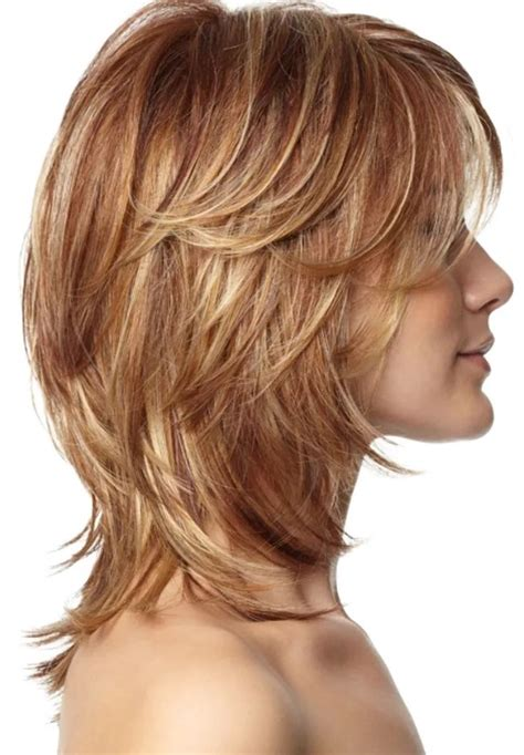 shoulderlength volume haircut 25 most superlative medium length layered hairstyles