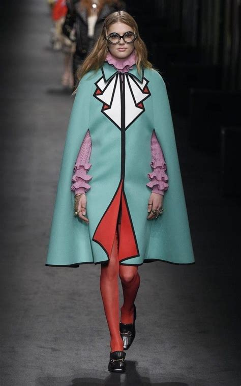 Fashion Gucci 3 Ruang gucci aw16 a triumph of joyous colour and eccentricity at milan fashion week