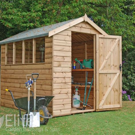 Sheds Delivered And Installed by Apex Sheds In Fareham Sheds Summerhouses Hshire