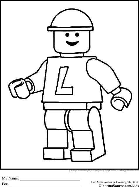 printable coloring pages lego lego coloring pages legoman gif 2 459 215 3 310 pixels lego