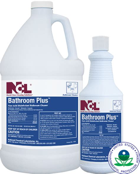 Non Acid Disinfectant Bathroom Cleaner by Bathroom Plus Non Acid Disinfectant Bathroom Cleaner 4 Gl Cs