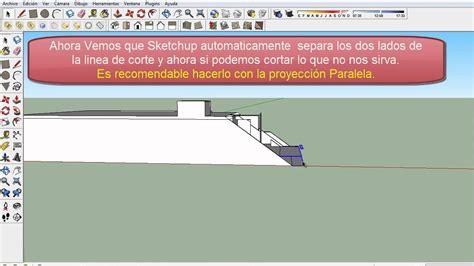 tutorial en sketchup tutorial como hacer cortes en sketchup renderizables