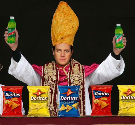 Doritos Meme - dorito pope know your meme