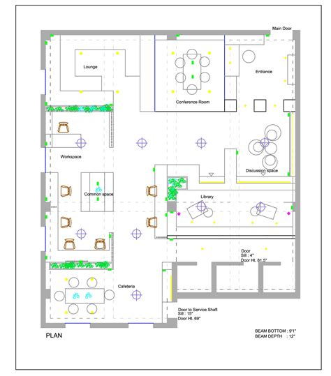 layout of the office in the office a type face design firm s office by yellowsub studio