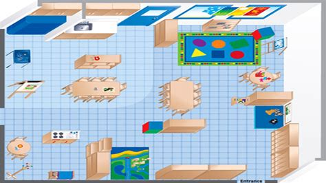 floor plan of a preschool classroom room diagram maker ecers preschool classroom floor plan