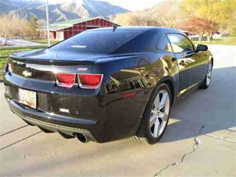 2010 camaro 2ss rs package buy used 2010 chevrolet camaro 2ss coupe 6 2l v8 engine