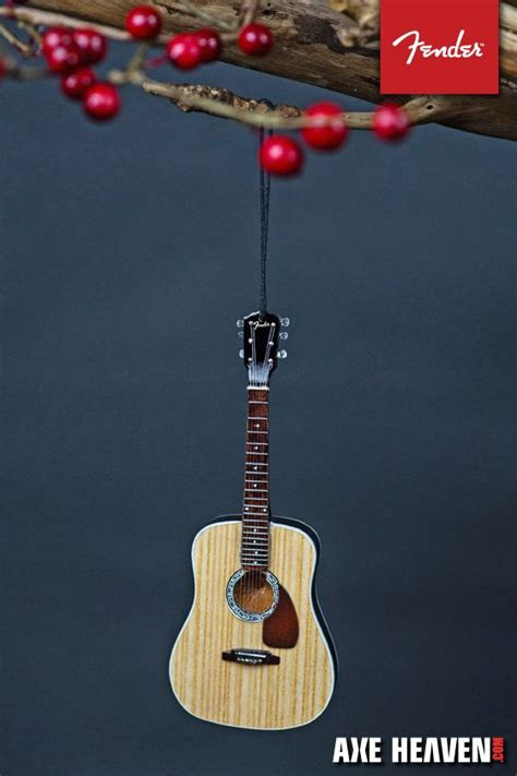 fender dreadnought acoustic guitar ornament guitar