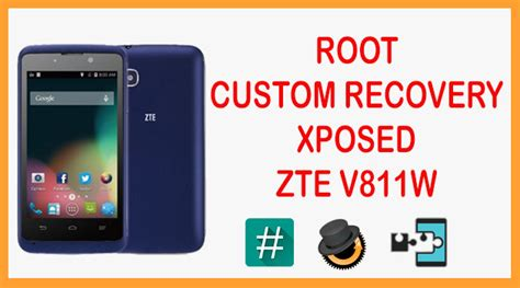 Hp Zte V811w root install custom recovery xposed zte v811w clickbait