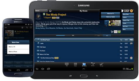 my android guides how to use tivo app for android tablets and phone