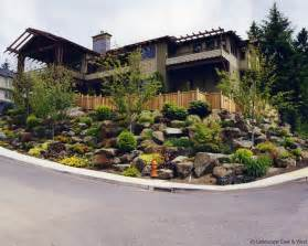 Sloping Lot Retaining Walls For Portland Landscaping Amp Sloped Lots By