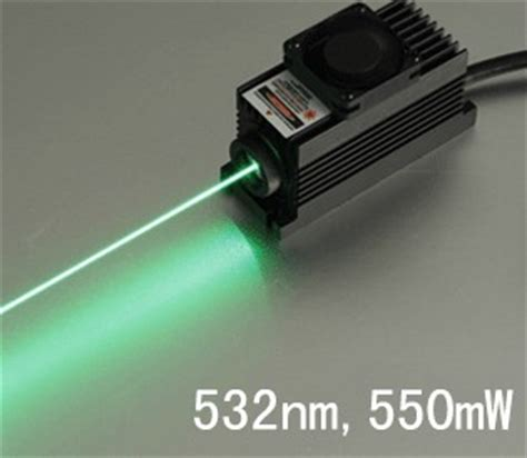 green laser diodes high power 532nm 500mw high power green laser module dot lsr532nl 580 00 laser products store