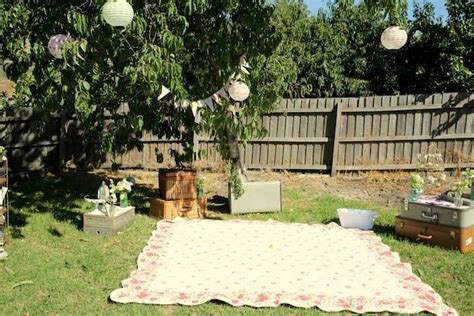 rustic backyard party ideas kara s party ideas vintage rustic garden party ideas