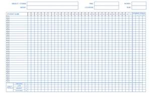 student attendance record template monthly attendance template microsoft word calendar