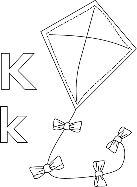 pattern for kite preschool kite pattern coloring page pictures to pin on pinterest