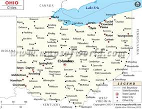 Ohio Map Cities by Buy Map Of Ohio Cities