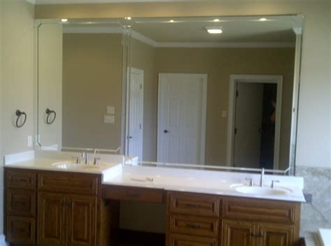 custom bathroom mirrors custom bathroom mirror patriot glass and mirror san