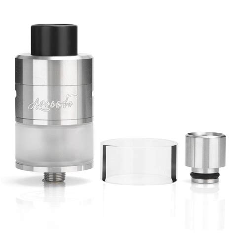 Authentic Avocado 24 Bottom Airflow Rdta Atomizer Black Ss geekvape avocado 24mm rdta v2 bottom airflow canada gt gt vapevine ca