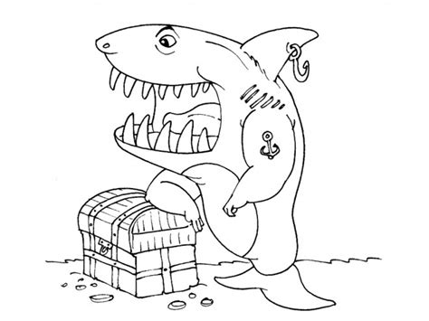 Coloriage Requin Pirate Dessin Gratuit 224 Imprimer Dessin Colorier Requin Scie A Imprimer L